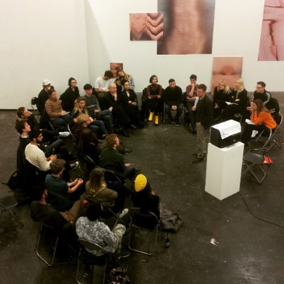 Meetup at Nieuw Dakota Amsterdam with Simon Valkering, during exhibition of AKV st.Joost