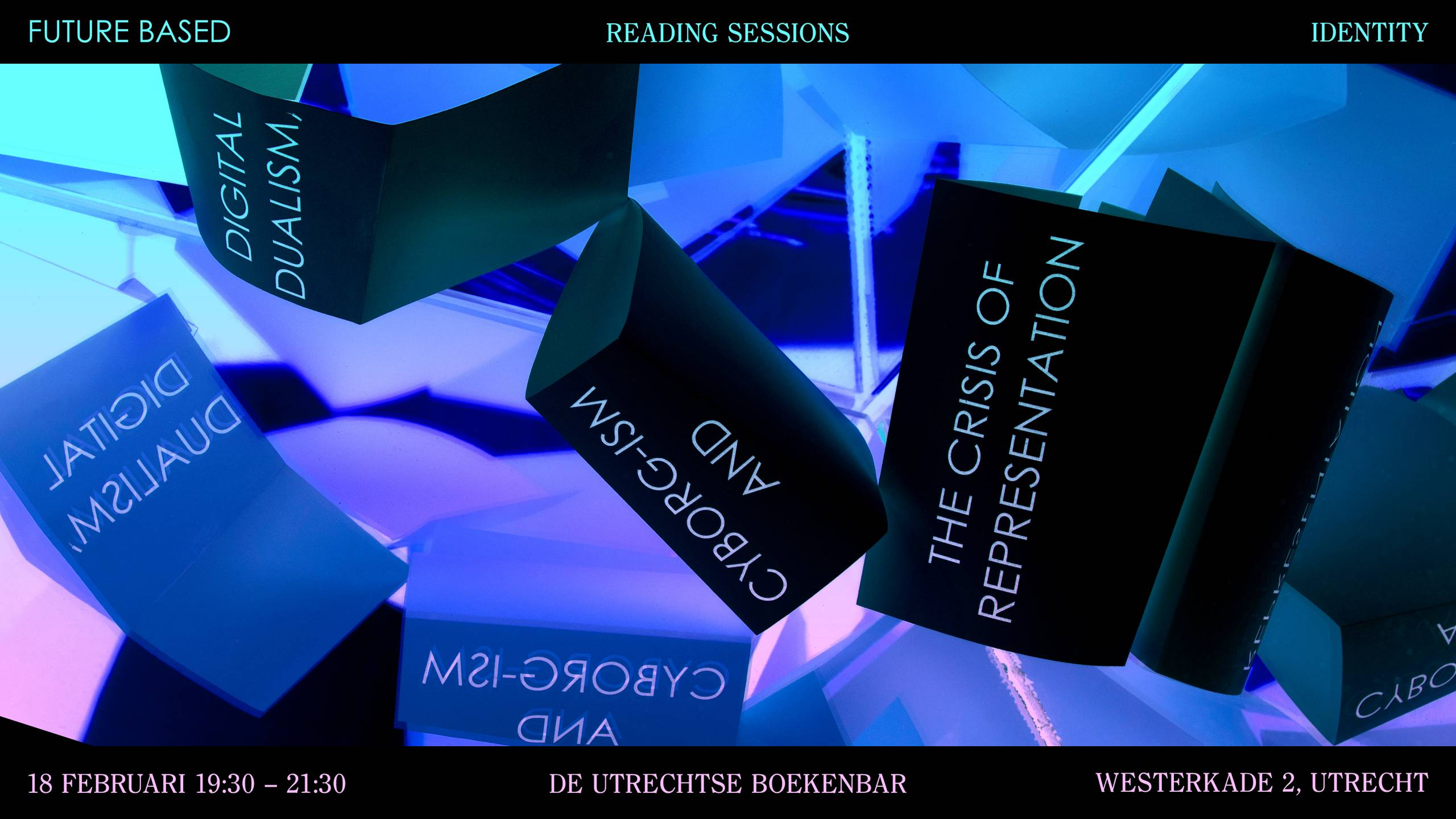 Readin Session on Cyborgism. Banner by Dana Dijkgraaf