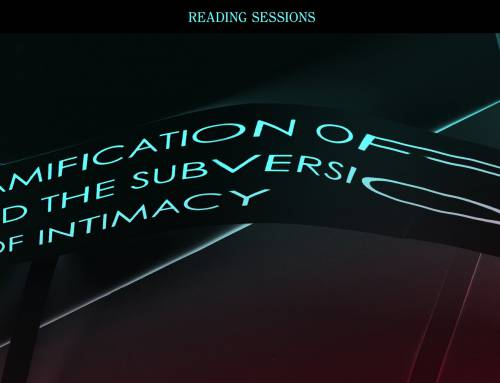 Online Reading Session #5 LOVE: The Gamification of love and the subversion of intimacy.